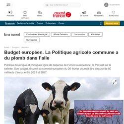 Budget européen. La Politique agricole commune a du plomb dans l'aile