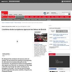 L'extrême droite européenne approuve les idéaux de Breivik