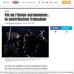 Fin de l'Union européenne : lacontributionfrançaise