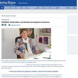 HOMMAGE : Gisèle Halimi, «une féministe et européenne convaincue»...