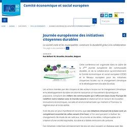 Journée européenne des initiatives citoyennes durables