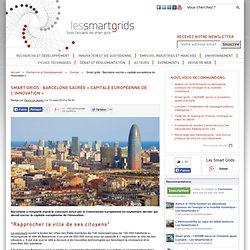 Smart grids : Barcelone sacrée « capitale européenne de l'innovation »