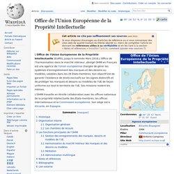 Office de l'Union Européenne de la Propriété Intellectuelle