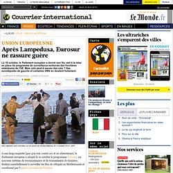 Après Lampedusa, Eurosur ne rassure guère