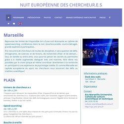 Nuit Europeenne des chercheur.e.s : MarseillE19