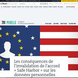 Ressources complémentaires 4: «Safe Harbor»: que change l'arrêt de la justice européenne sur les données personnelles?