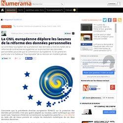 La CNIL européenne déplore les lacunes de la réforme des données personnelles