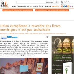 Union européenne : revendre des livres numériques n'est pas souhaitable