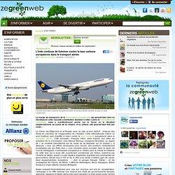 L'Inde continue de fulminer contre la taxe carbone européenne dans le transport aérien