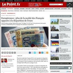 Européennes : plus de la moitié des Français opposés à la disparition de l'euro