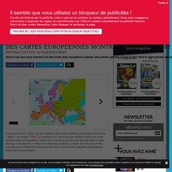 Des cartes européennes montrent l'étymologie des mots - Science-et-vie.com