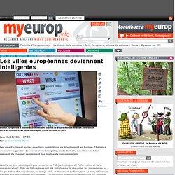 Les villes européennes deviennent intelligentes