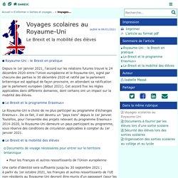 Voyages scolaires au Royaume-Uni - Délégation Académique aux Relations Européennes, Internationales et à la Coopération