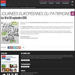 Journées européennes du patrimoine, visites - Manifestations en Languedoc-Roussillon Sud de France