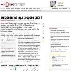 Européennes : qui propose quoi?