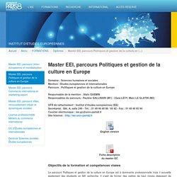 Institut d'études européennes - Université Paris 8