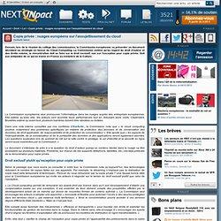 Copie privée : nuages européens sur l'assujettissement du cloud
