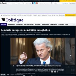 Les chefs européens des droites europhobes