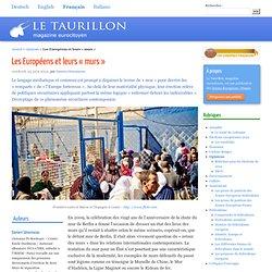 Les Européens et leurs « murs »