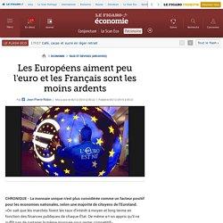 Les Européens aiment peu l'euro et les Français sont les moins ardents