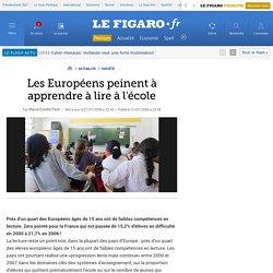 Les Européens peinent à apprendre à lire à l'école
