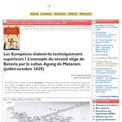 Les Européens étaient-ils techniquement - Clio-Lycée
