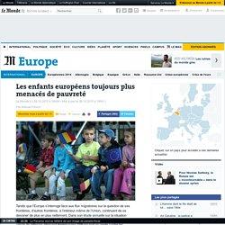Les enfants européens toujours plus menacés de pauvreté