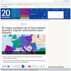 El mapa europeo de la fecundidad muestra signos alarmantes para España