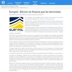 Europol: Bitcoin ne finance pas les terroristes – Bitcoin.fr