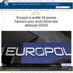Europol a arrêté 34 jeunes hackers pour avoir lancé des attaques DDoS