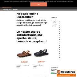 Modelli, Prodotti - Euroroutier: scarpe antinfortunistiche da lavoro sicure, comode e fresche
