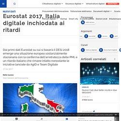 Eurostat 2017, Italia digitale inchiodata ai ritardi