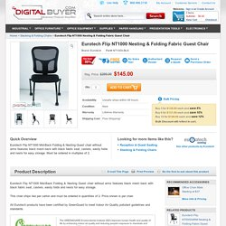 Eurotech Flip NT1000 Nesting & Folding Fabric Guest Chair