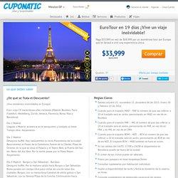 EuroTour en 19 días ¡Vive un viaje inolvidable!