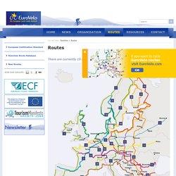 Routes - EuroVelo - the European cycle route network