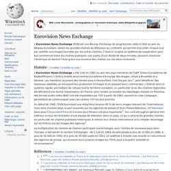Eurovision News Exchange