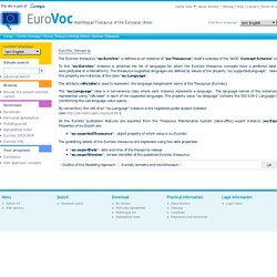 Eurovoc Thesaurus