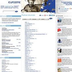 eurozine Partner Journals