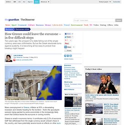 How Greece could leave the eurozone – in five difficult steps
