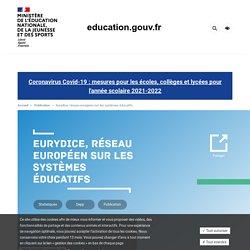Eurydice, réseau européen sur les systèmes éducatifs