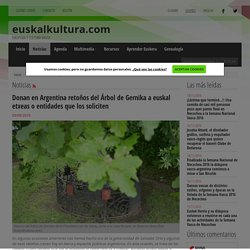 Euskal kultura - Noticias