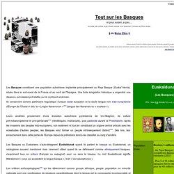 Euskaldunak - Tout sur les Basques
