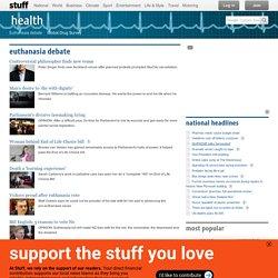 Euthanasia Debate News