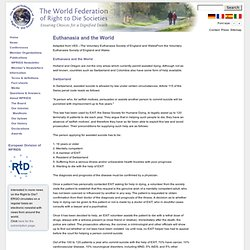 The World Federation of Right to Die Societies