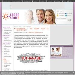 Euthanasie : des pistes pour se positionner !