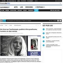 Un livre sur l'euthanasie, publié à titre posthume, numéro un des ventes
