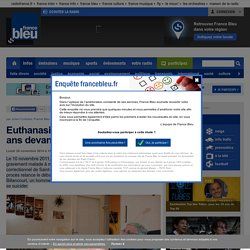 Euthanasie: un Stéphanois de 86 ans devant la justice