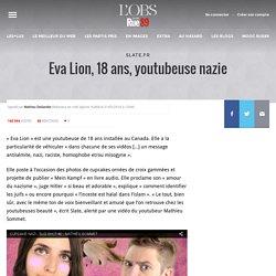 Eva Lion, 18ans, youtubeuse nazie