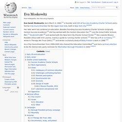 Eva Moskowitz - Wikipedia
