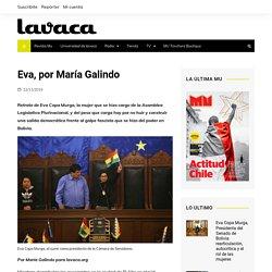 Eva, por María Galindo – lavaca